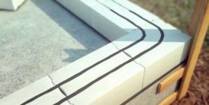 Устройство штроб для укладки арматуры